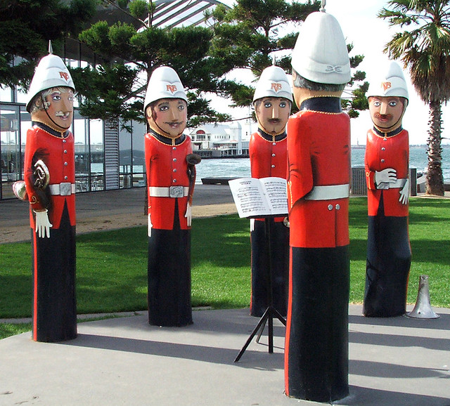 Volunteer Rifle Band by Jan Mitchell