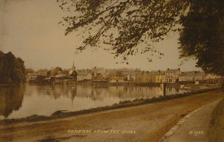 Donegal Town from the Quay R 1938