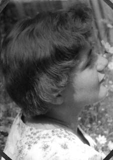 My mom in 1958