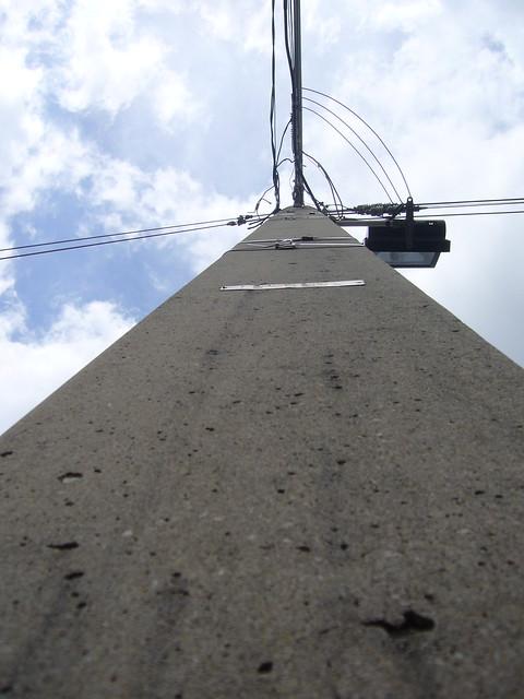 Concrete Electric Poles : Concrete utility pole flickr photo sharing