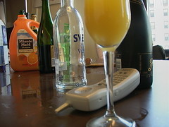 Mimosa morning montage