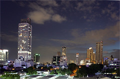 skyscraper(1.0), metropolis(1.0), cityscape(1.0), skyline(1.0), city(1.0),