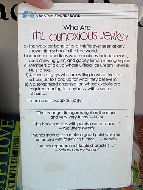 Classics of Western Young Adult Literature #1 Back Cover