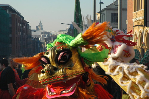 Liverpool Chinese New Year by Birgit Deubner