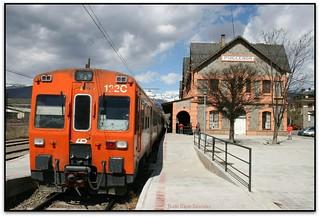 Tren a Puigcerdà