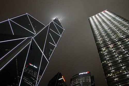 Night Skyscrapers