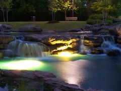 A Park at Night