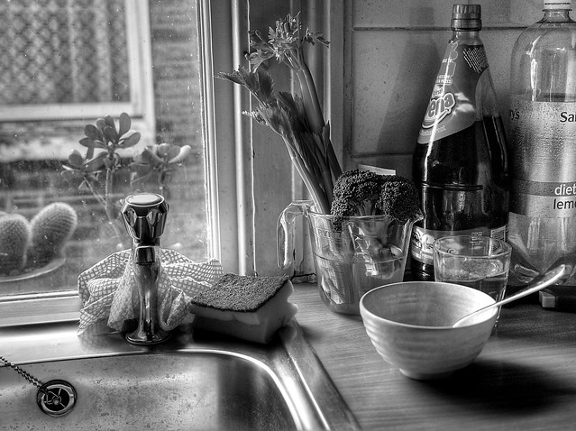 Another kitchen sink still life (hdr)