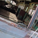 Abandoned Trolley Car found in Red Hook, Brooklyn
