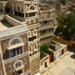 Buildings in Sanaa after tilt shift effect - Yemen