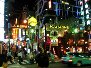 Karaoke at Shibuya