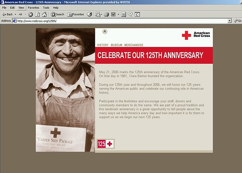The Red Cross-125th Anniversary Gala--Please read comments!!