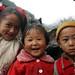 Tibetan, Naxi kids by maskofchina.com