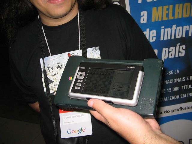 Nokia 770 vs Newton