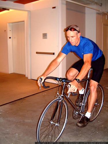 2003-07-06, road bike, titanium road frame,… dscf5611