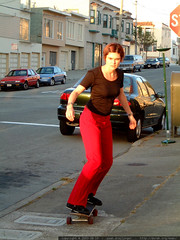 rachel skateboarding in san francisco   dscf6334