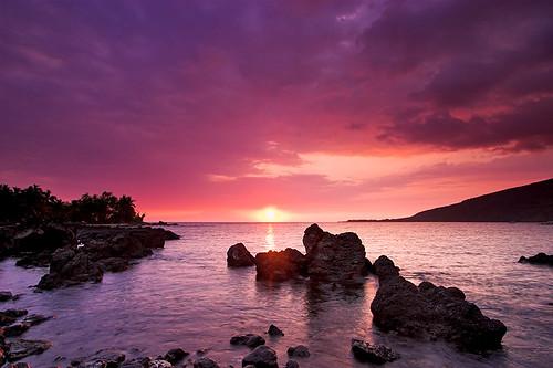 sunset hawaii bay bravo kealakekua kona gnd 20345 maninibeachroad