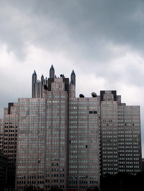 Grey Sky, Grey Buildings