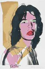 Andy Warhol - Mick Jagger  1975