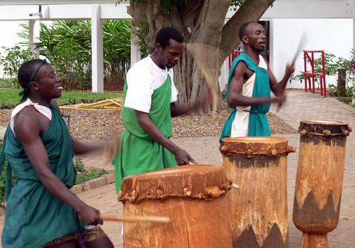 Try playing local Burundian drums at Saga Plage  - Things to do in Bujumbura