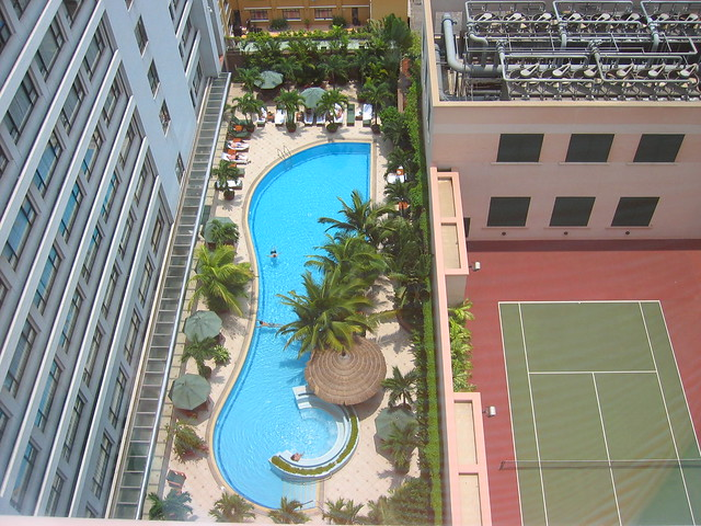 Swimming Pool At The Caravelle Hotel In Saigon View From