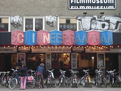 Bellevue Cinerama, Amsterdam - letters