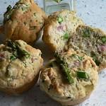 Rezepte mit Spargel: Spargel-Schinken-Muffins