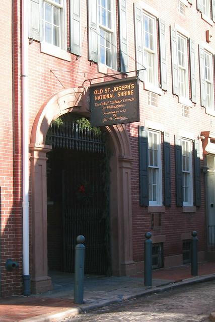 Philadelphia Society Hill Old St Josephs Church
