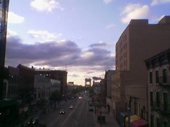 View from East 125th Street