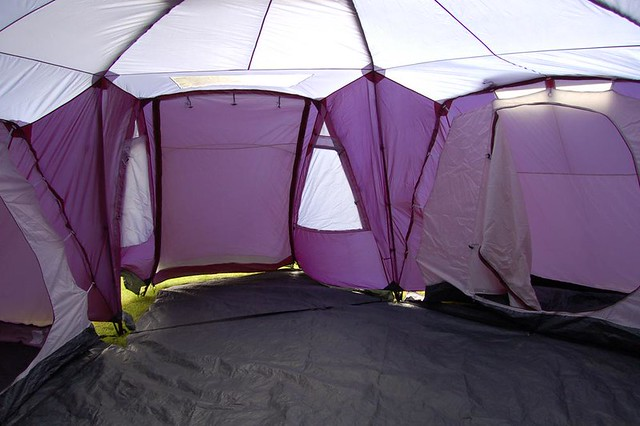 Three bedroom tent