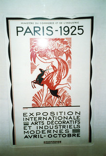 French art exhibition poster