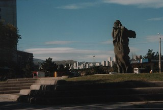 A monument in Tbilisi