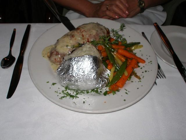 Cavalier Room Kingston Dinner Menu