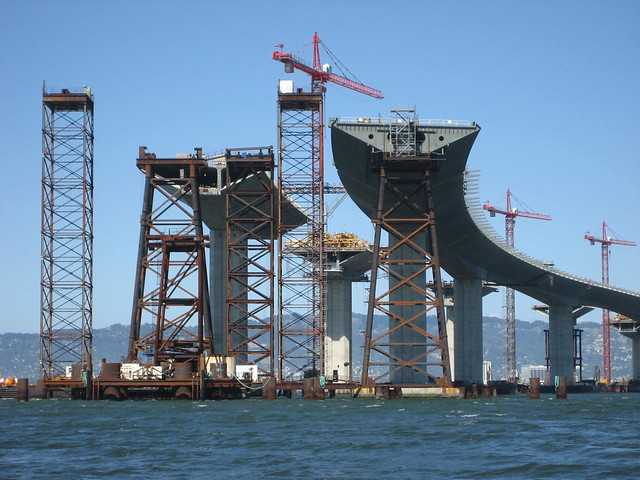 New Bay Bridge under construction
