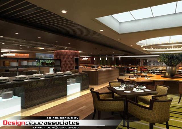 D restaurant design rendering flickr photo sharing