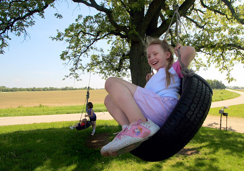Tire Swinging I: Sabrina
