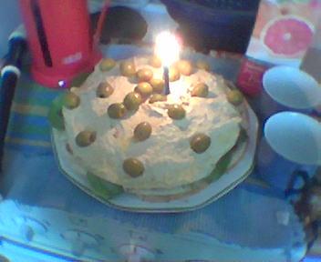 Vegan Birthday Cake on Rob S Savoury Vegan Birthday Cake   Flickr   Photo Sharing