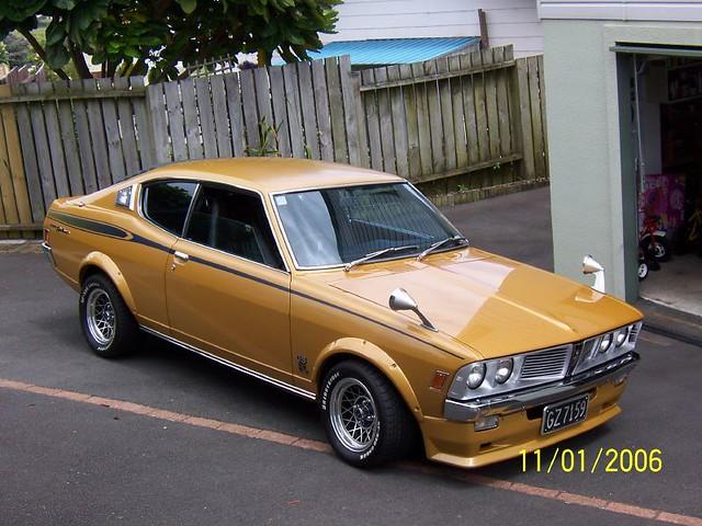 1973 Mitsubishi Colt GTO (Mag Wheels)