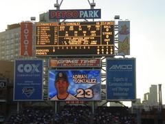 sport venue, signage, scoreboard, display device, flat panel display, billboard, stadium, advertising,