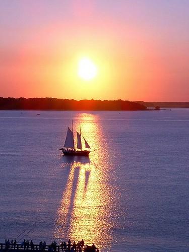 sunset boat head hilton hiltonhead