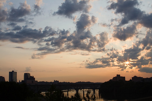morning sunrise cityscape knoxville tennessee payitforward