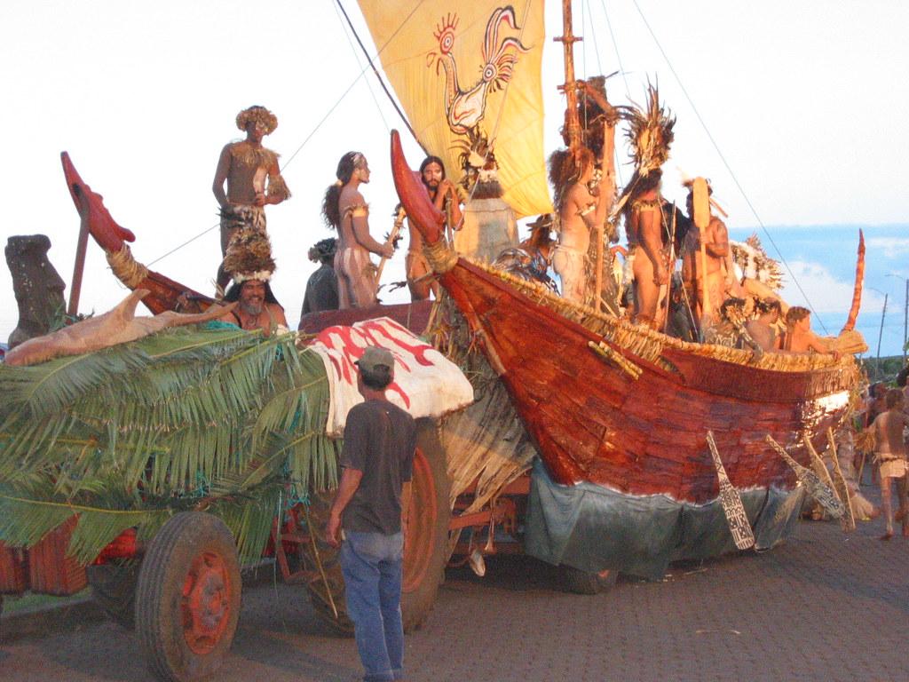 Tapati Festival Easter Island