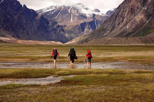 Hiking Auyuittuq National Park