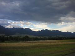 Mountain range and basin