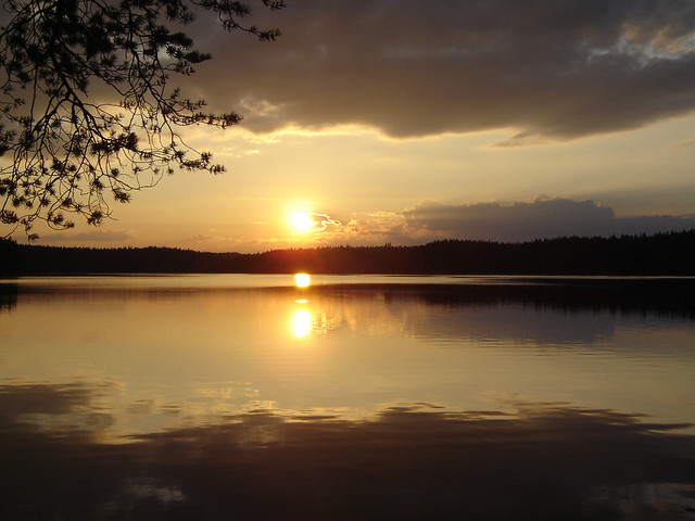 Beautiful Sunset in Sweden