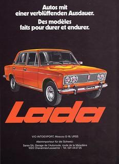 1977 Lada 1500 Ad (Switzerland)