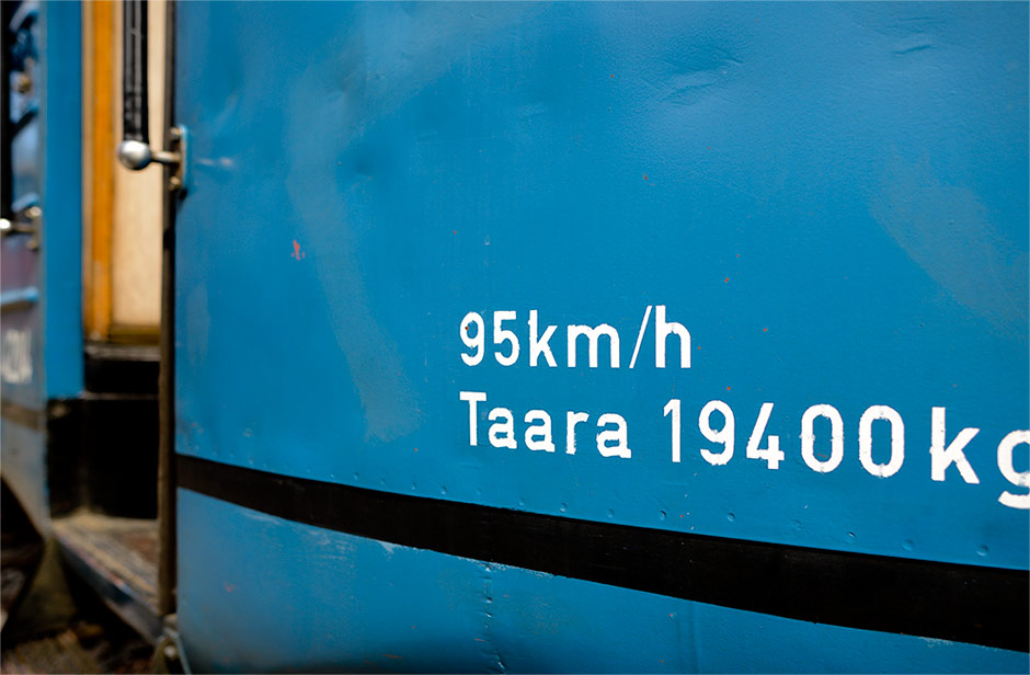 "Museum train ""Lättähattu"""