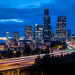 Seattle Skyline from 12th Ave Bridge