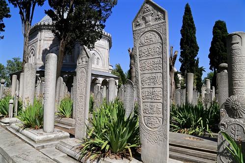 Suleymaniye tombs