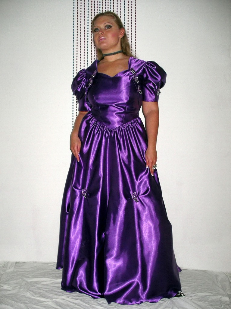 Purple Ball Gown